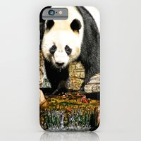 iPhone & iPod Case featuring Wang Wang by Cathie Tranent