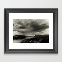 Gorge Framed Art Print