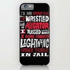 Muhammad Ali: Aligator iPhone 6 Slim Case