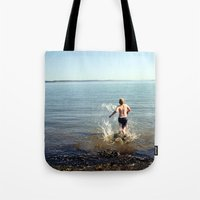 Into the drink Tote Bag