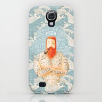 Galaxy S4 Cases featuring Sailor by Seaside Spirit