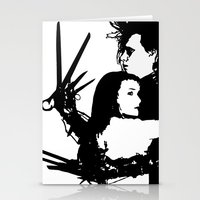Scissorhands Stationery Cards
