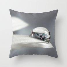 hello kitty Throw Pillow