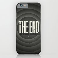 iPhone Cases featuring The End by Dr. Lukas Brezak