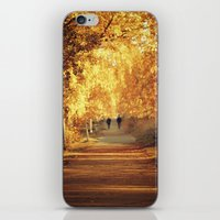 Golden Walk iPhone & iPod Skin