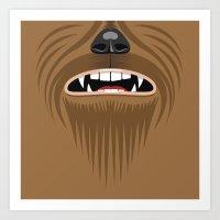 Chewbacca - Starwars Art Print