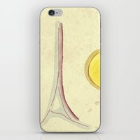 afternoon in paris iPhone & iPod Skin