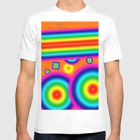 Psychedelich  Mens Fitted Tee White SMALL