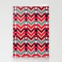 Fractal Mountains - candy Stationery Cards