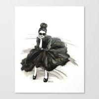 London Chic Canvas Print