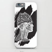 iPhone & iPod Case featuring Wrong Brain by WeLoveHumans