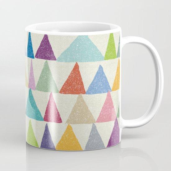 Analogous Shapes In Bloom. Mug