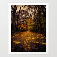 Finding the Beauty in Hurricane Sandy. Art Print