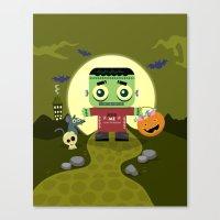 Frankie Goes To Hallowee… Canvas Print