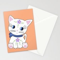 Bella the cat Stationery Cards