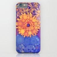 Vintage Flowers in the rain iPhone 6 Slim Case