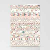 tribal Stationery Cards featuring Tribal by lemonhead