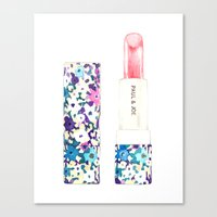 Paul & Joe Lipstick Canvas Print