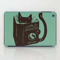 World Domination for Cats (Green) iPad Case