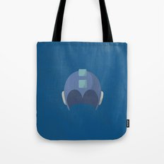 Cool Megaman Helmet Picture Tote Bag