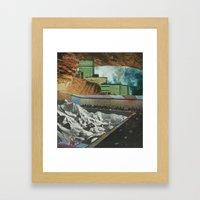 Strange Cities: A Theatr… Framed Art Print