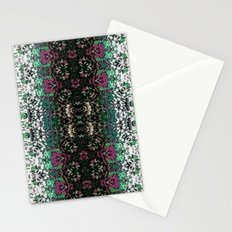 Snowy Rose Brier  Stationery Cards