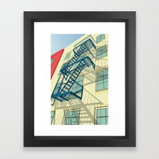 NYC greenwich village Framed Art Print