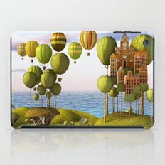 City in the Sky_Lanscape Format iPad Case