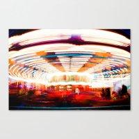 Go Round Canvas Print