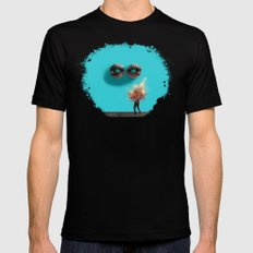 Stendhal Syndrome Black Mens Fitted Tee SMALL