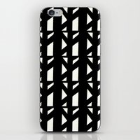 Marsman Black & White Pattern iPhone & iPod Skin