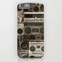 Wall Of Sound iPhone 6 Slim Case