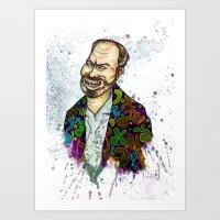 Terry Gilliam Art Print