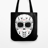 Viernes The 13Th Sugar Skull Tote Bag