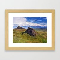 From The Quirang Framed Art Print