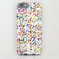 iPhone & iPod Case featuring triangles by Lucía López