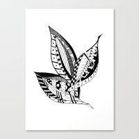 Leaves of Three Canvas Print