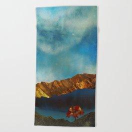 Beach Towel - Bronze Autumn - SpaceFrogDesigns