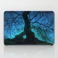 Tree under a spangled sky (light) iPad Case