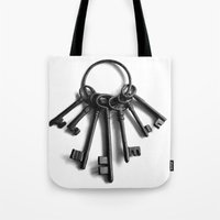 Keys to Another Time Tote Bag
