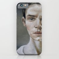 iPhone & iPod Case featuring portrait (shiver) by karien deroo