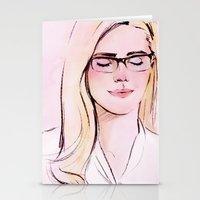 Arrow Portraits Series: … Stationery Cards