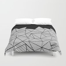 Abstraction Mountain Duvet Cover