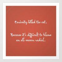 Proverbs: Curiosity Art Print