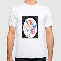 tattoo woman Mens Fitted Tee Ash Grey SMALL