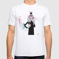 Ice Cream Queen Mens Fitted Tee Ash Grey SMALL
