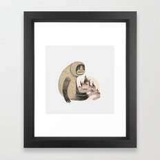This Was An Accident  Framed Art Print