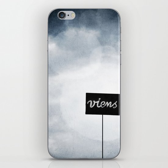 Viens ! iPhone & iPod Skin