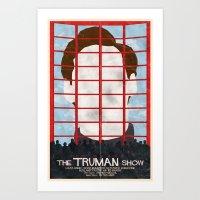 The Truman Show Art Print