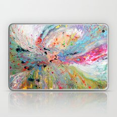 lluvia de abril Laptop & iPad Skin